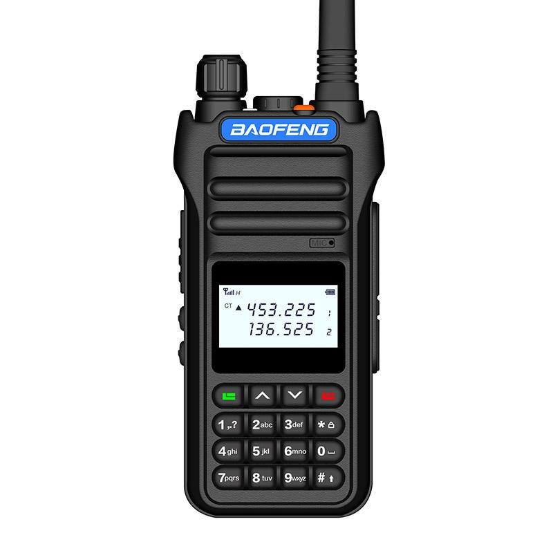 Baofeng BF-8000D 10W 30km Walkie Talkie High Power Dual Band Handheld Two Way Radio Communicator HF Transceiver Amateur Handy