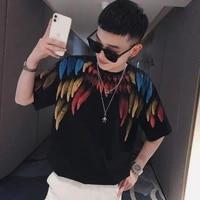 2021 summer student short sleeve t shirt male