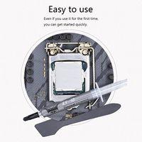 ZF-12 12W/mk High Performance Thermal Conductive Grease Paste AMD Intel processor CPU GPU Cooler Cooling Fan Compound Heatsink