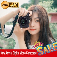 Digital Video Camera Vlogging Camcorder for Facebook WIFI Portable Handheld 16X Digital Zoom 30MP Ph