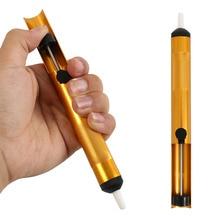 Dissaldatura pompa di aspirazione saldatura ventosa penna strumento di rimozione del vuoto ferro dissaldatore strumento di saldatura a mano