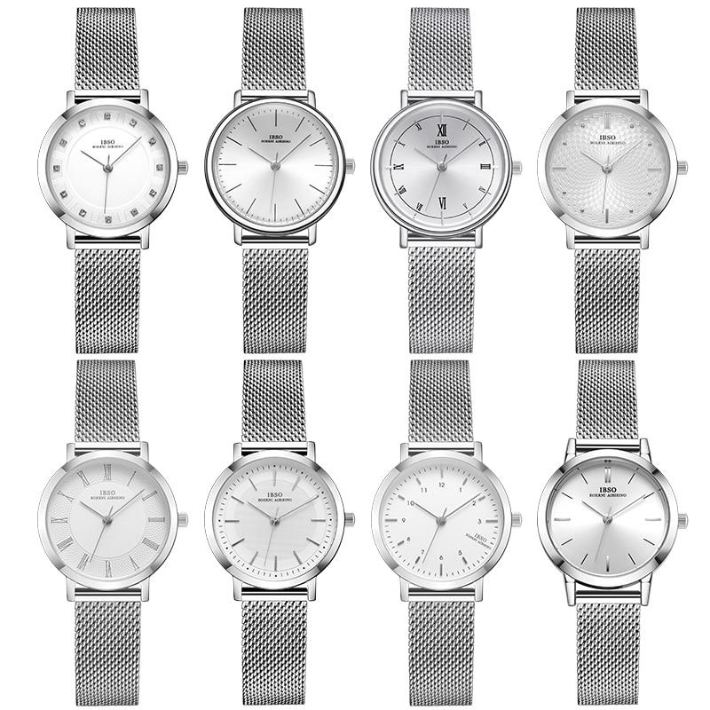 Women Watches Fashion Geneva Designer Japan Quartz Sliver White Stainless Steel Female Wristwatches 2021 Gift Relogio Feminino enlarge