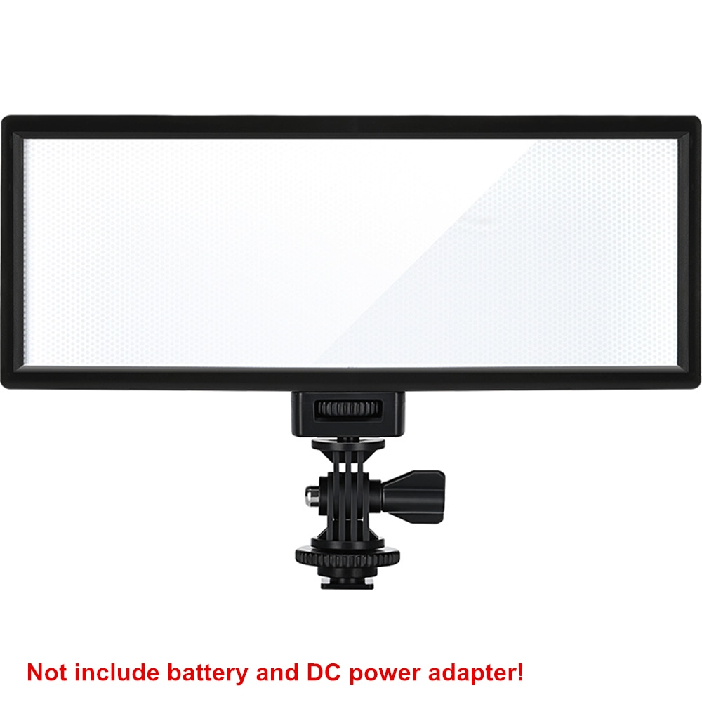 falcon eyes 216 bi color led video light lamp dimmable for illuminating photographing or filming for canon nikon camera dv 216vc Viltrox L132T LED Video Light Ultra Thin LCD Display Bi-Color & Dimmable DSLR Studio Light Lamp Panel for Camera DV Camcorder