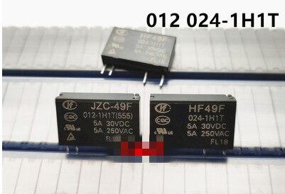Przekaźnik JZC-49F 024-1H1 JZC49F-012-1H1 betonomieszarki JZC 49F 024 1H1 betonomieszarki JZC 49F 012 1H1 24VDC 12VDC 4PIN