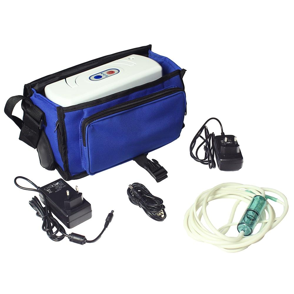 COXTOD 2 بطارية مُكثّف أوكسجين مولد المنزلية الأكسجين بار للسيارات سيارة الأكسجين البنك 24 ساعة متواصلة والوقت مجموعة