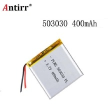 3.7V 500mAh akumulator 503030 akumulator litowo-polimerowy li-ion do Mp3 DVD kamera GPS PSP bluetooth electronics