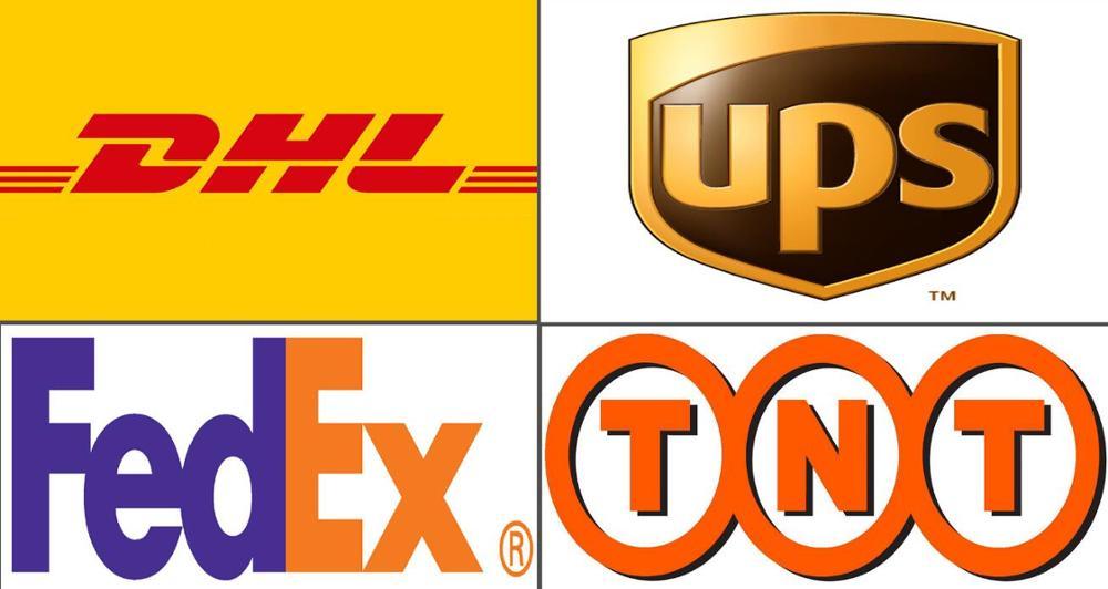 Gastos de envío por DHL/FEDEX/UPS
