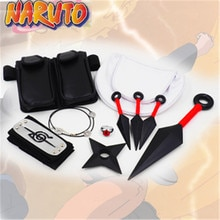 Accessoires Naruto accessoires Cosplay Shuriken Kunai sac Uchiha Itachi ensembles accessoires Ninja sacs