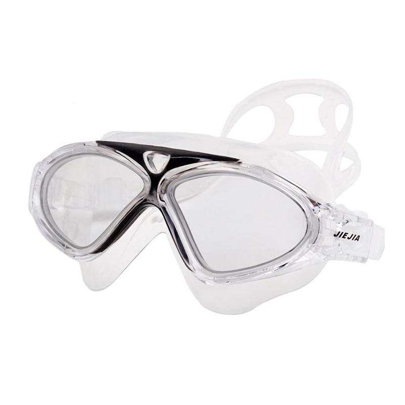 Óculos de natação natação óculos de mergulho máscaras das mulheres dos homens adulto à prova dwaterproof água profissional anti nevoeiro grande quadro nadar óculos natacion