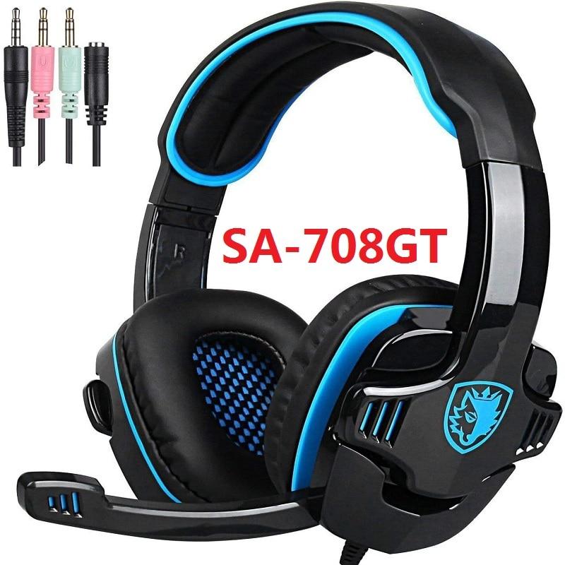 SADES USB/3.5 Gaming Headphones
