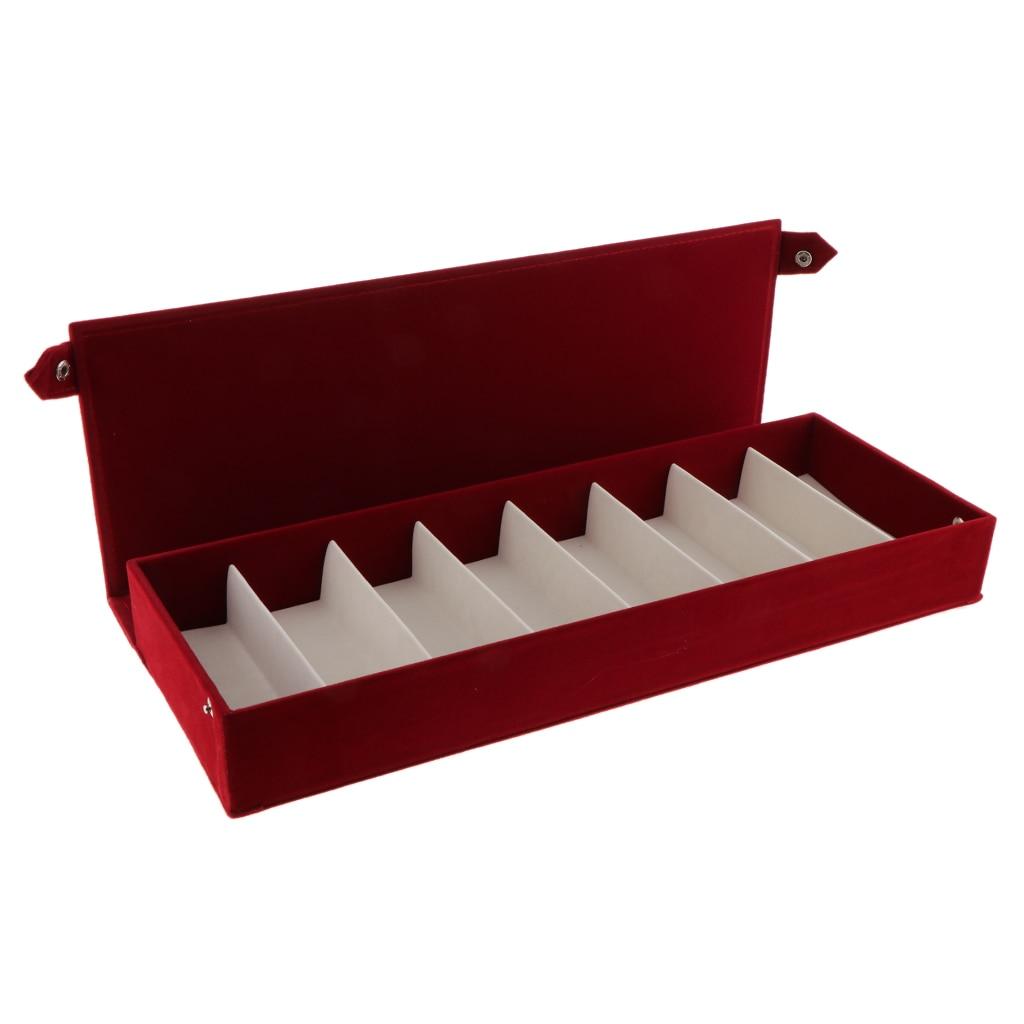 Estuche soporte de caja expositor de gafas de sol Premium 8 compartimentos