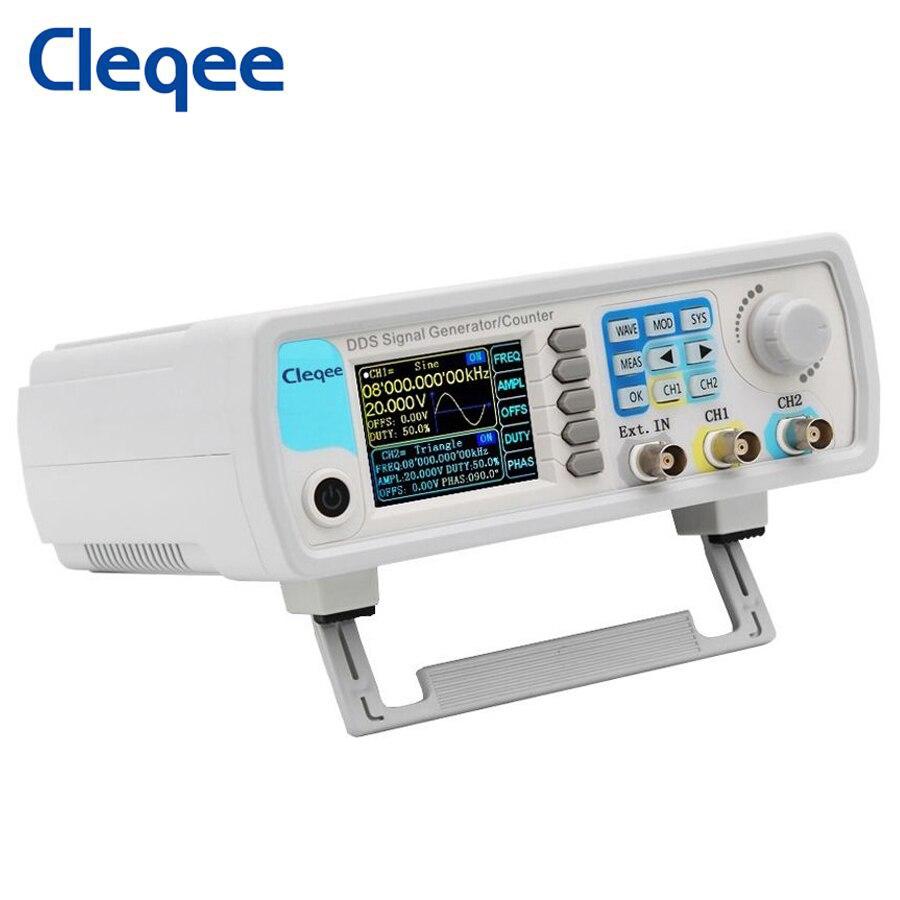 Cleqee JDS6600-60M 60MHZ double canal arbitraire générateur de Signal de forme donde DDS fonction compteur compteur de fréquence de contrôle numérique