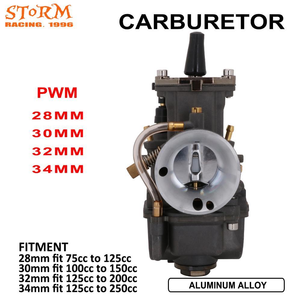 Pieza de motocicleta, Carburador de Choke con Cable para Motor PWK 28 30 32 34, 75-250CC, escúter ATV, Quad Pit, Motor de tierra, bicicleta