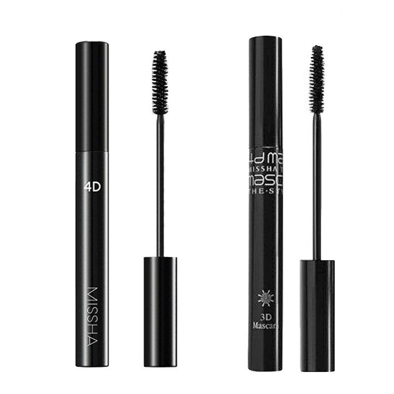 MISSHA The Style 4D Mascara 7g Long Eyelash Silicone Brush Waterproof Makeup 3D Eye Mascara Original Korea Cosmetics