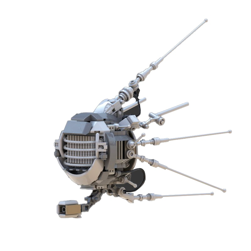 Строительные блоки MOC Space, кубики, кирпичи, наборы фильмов из войн, высокотехнологичный набор, модель «сделай сам», игрушки для детей, подарок...