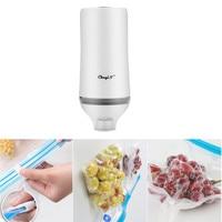 Household Food Vacuum sealer Packaging Machine With 5pcs sealing bags Portable Mini Automatic Best Vacuum Food Sealer Kitchen 51