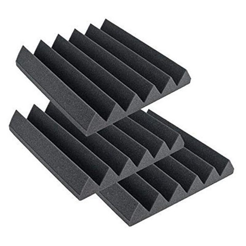 12 Pcs Acoustic Foam Panel,Sound Insulation Pad,Sound Insulation Foam Panel,Studio Foam,Sound Insulation Foam,30X30X5cm enlarge