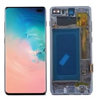 original amoled lcd for samsung galaxy s10 plus s10 g975 sm g9750 g975f lcd display touch screen digitizer assembly with defect