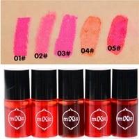 5colors optional women makeup waterproof multifunction lip gloss tint dyeing liquid lipgloss blusher long lasting cosmetics tool