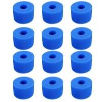 12pcs swimming pool foam sponge for intex s1 reusable washable biofoam cleaner pool foam swimming accessorie