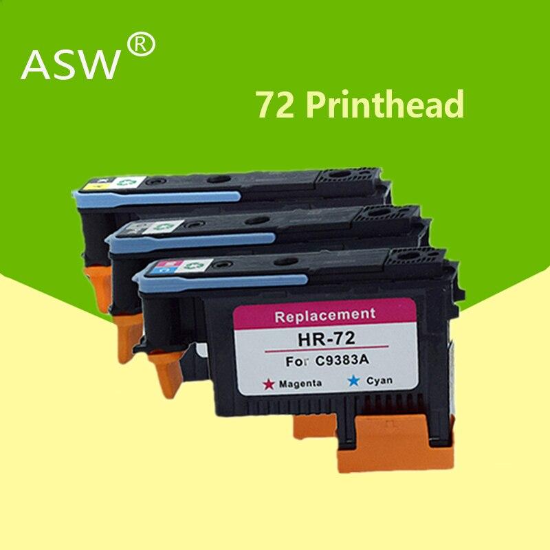 6 шт. печатающая головка C9383A C9384A печатающая головка для hp 72 DesignJet T1100 T1120 T1120ps T1200 T1300 T1300ps T2300 T610 T770 T790