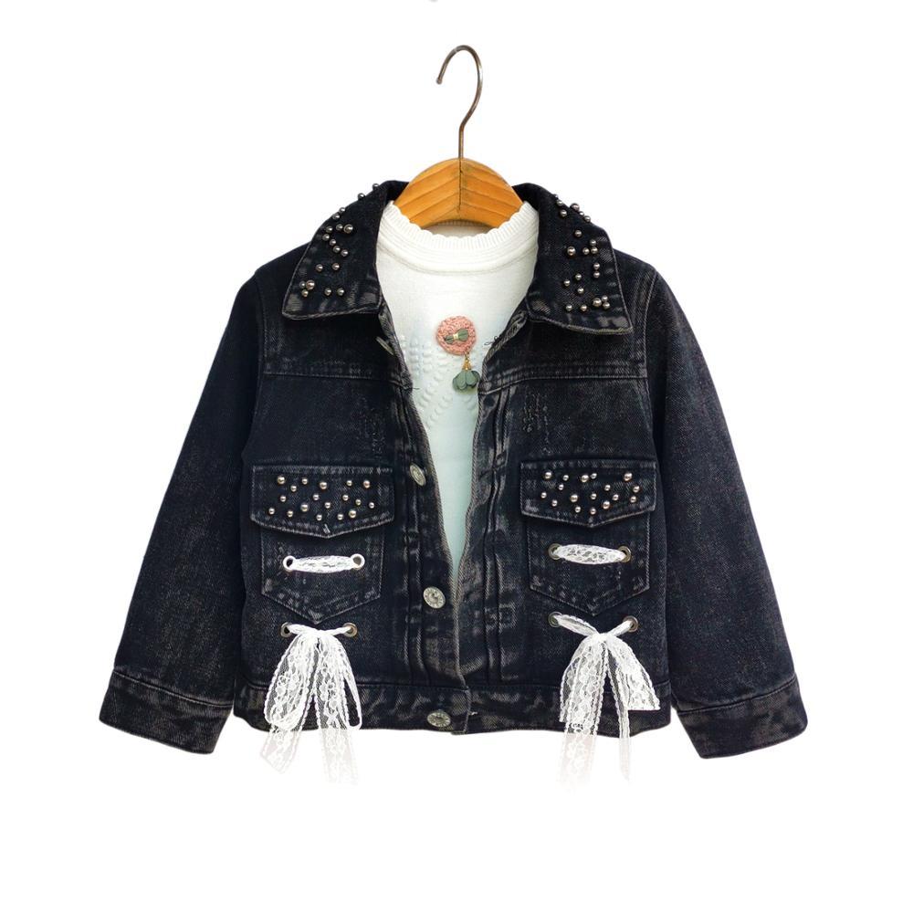 Chumhey 4-10T chaquetas de primavera para niñas de alta calidad, prendas de abrigo vaqueras para niñas, Cárdigan para niñas, pantalones vaqueros, abrigo niña niños, ropa para niños