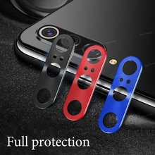 Ring Plating Aluminum Camera Lens Protector Cover For Xiaomi Mi 9 SE 8 Mi9 Mi8 SE Camera Case Ring P