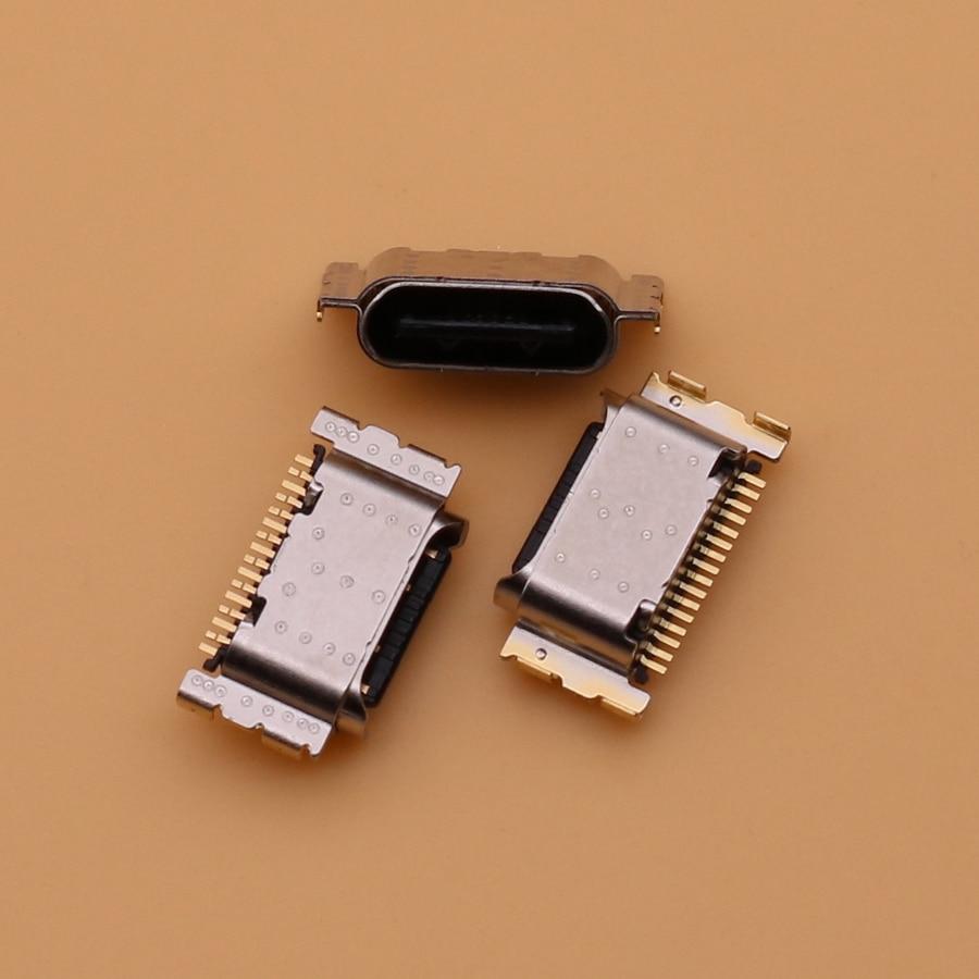 100 قطعة/الوحدة USB جاك شحن ميناء موصل التوصيل المقبس حوض إصلاح ل ممن لهم A32 A52(5 جرام) A72 Realme 6/6i/6 برو Reno4se