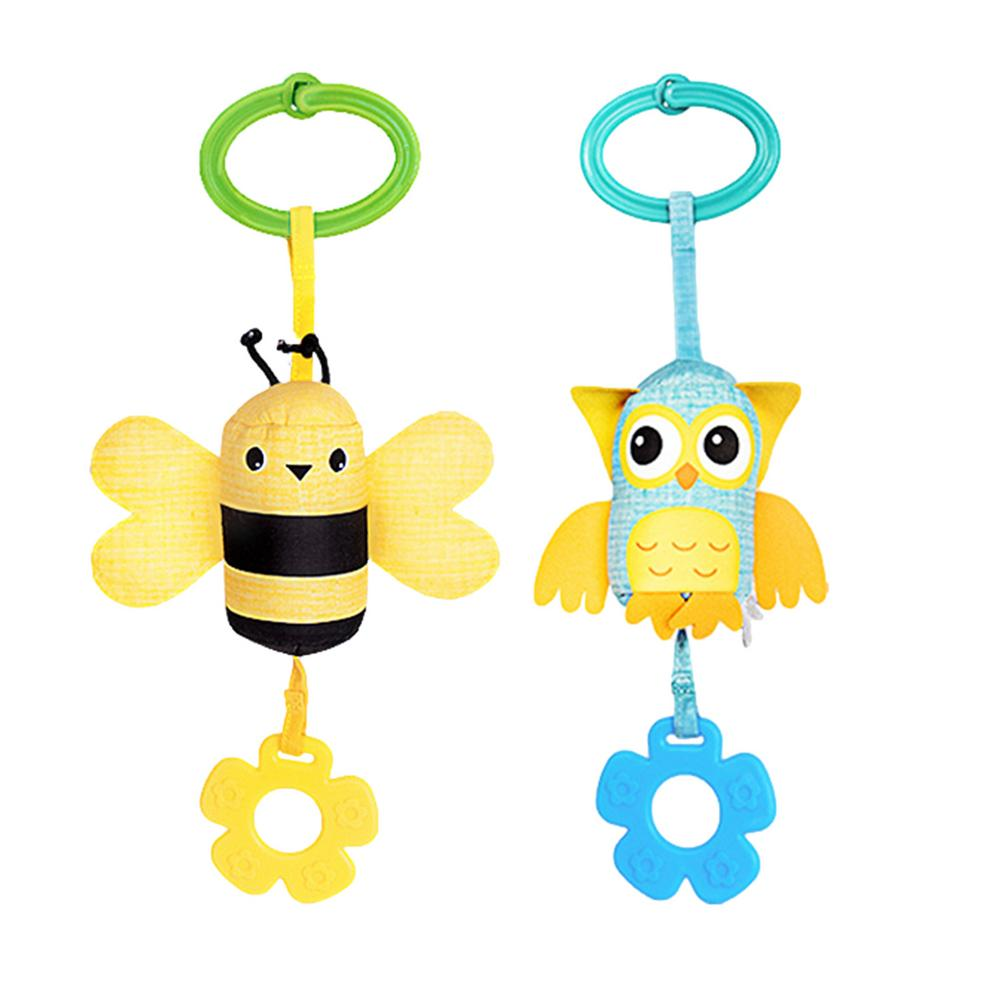 Фото - Baby Infant Plush Toys Mobile Stroller Baby Toy Bed Wind Chimes Rattles Clip Animal Car Bed Hanging Bell Teether Wind Chimes 3 pieces wind chimes feng shui wind bell lucky wind chimes bell vintage dragon and fish feng shui hanging chime for good luck