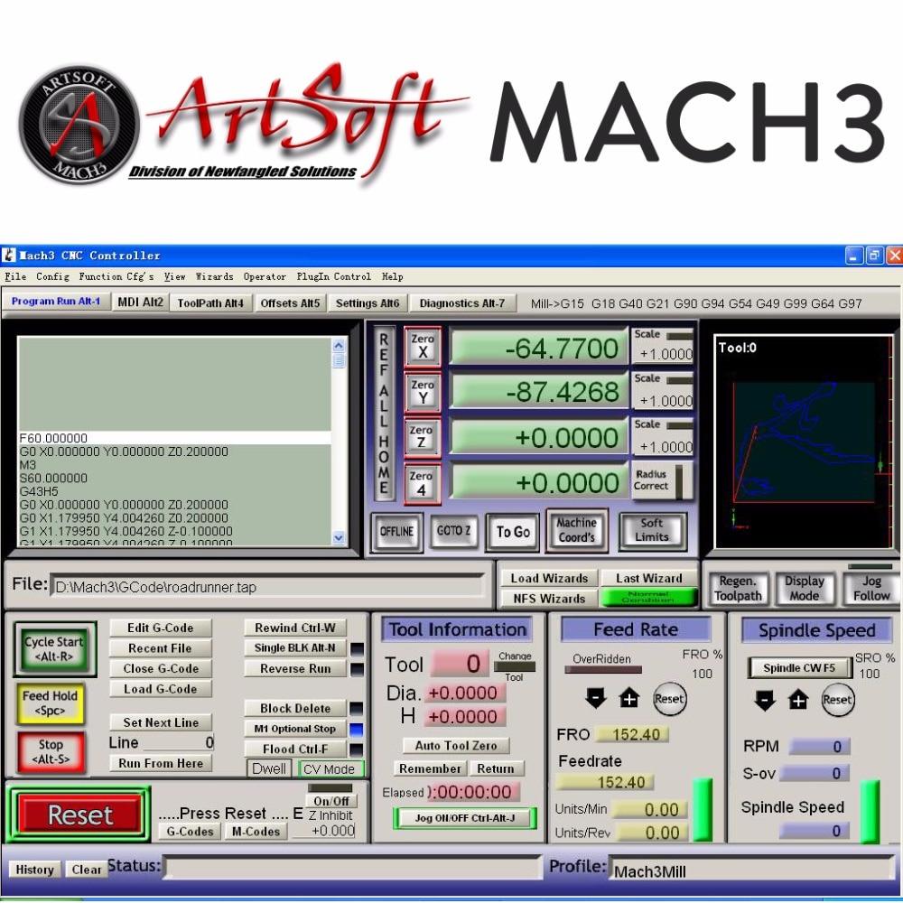 Servizio di installazione software per software CNC inglese / francese per torni, frese, router, laser, plasma, incisore