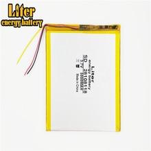 3 ligne 28108118 3.7V 5000 mAh pour VI40 V971 double noyau version polymère lithium ion batterie remplacement tablette PC batterie