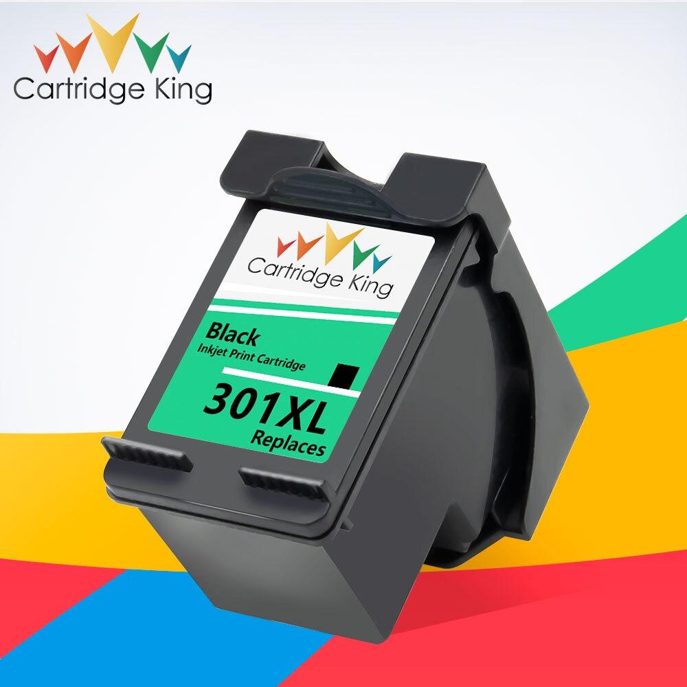 Cartucho King 301XL, reemplazo de cartucho de tinta para impresora HP 301 XL, Compatible con impresora Hp Deskjet 1000 1050A 2050 2510 3050