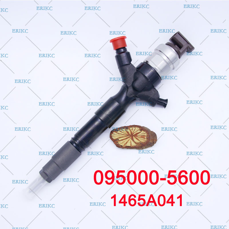 Boquilla de alta presión 095000-5600 095000-5601 Common Rail Diesel inyector Assy 1465A041 para Denso 5600 5601 Mitsubishi L200