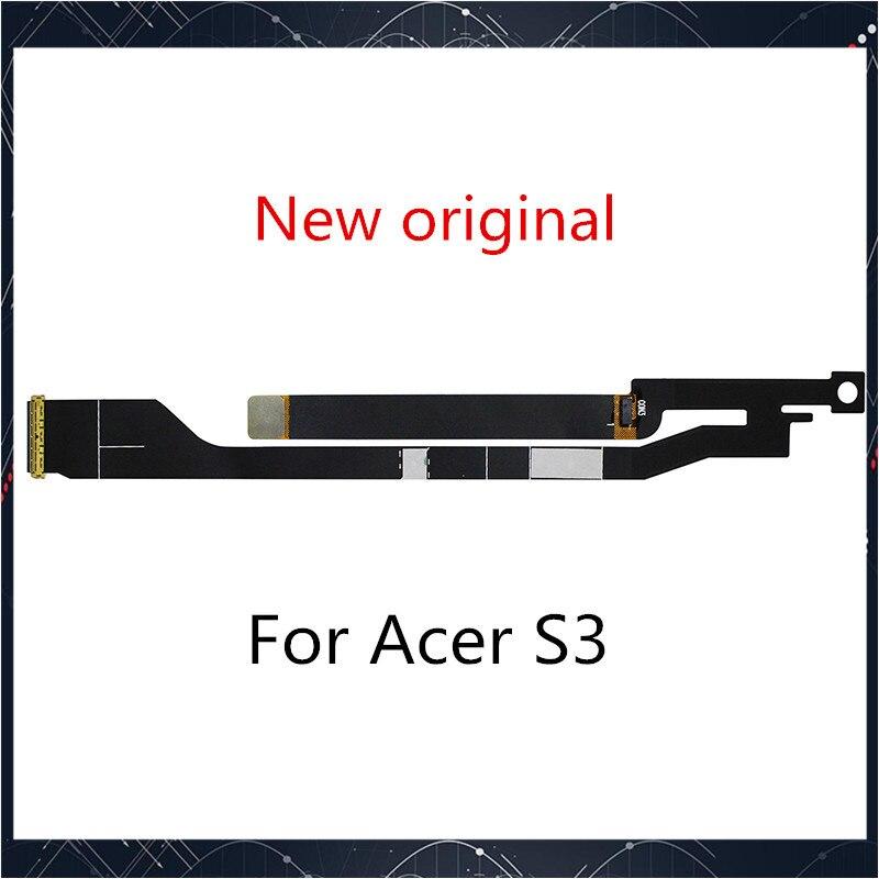Nueva para Acer Aspire S3 S3-371 S3-391 S3-951 LED cable de pantalla LCD HB2-A004-001 SM30HS-A016-001 B133XTF01.0 BUEN TRABAJO