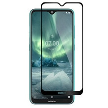 Tempered Glass Full Coverage Film Protection Shield Screen Protector for Nokia 7.2