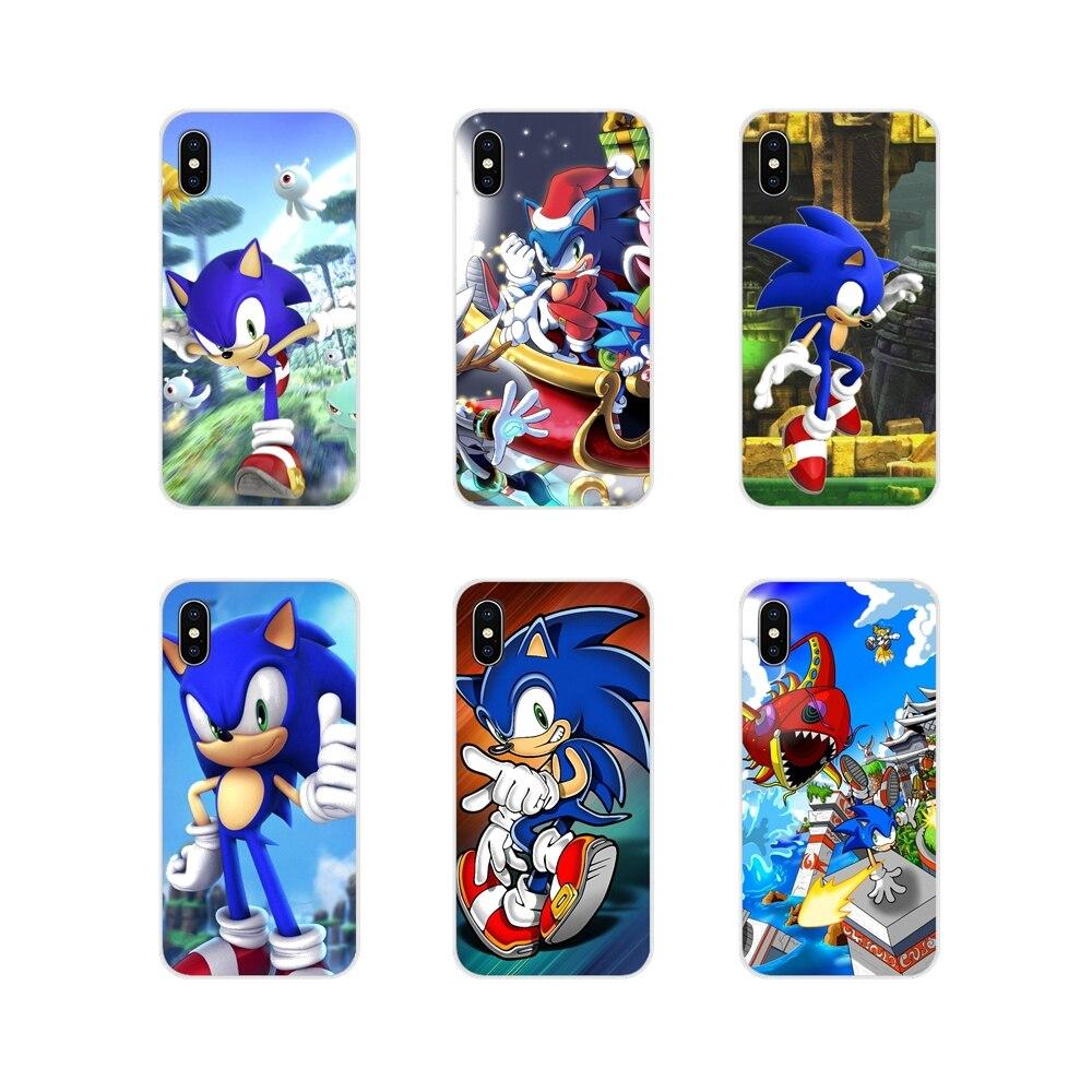 Fundas de teléfono Sonic The Hedgehog 4, accesorios para Samsung Galaxy S2, S3, S4, S5 Mini, S6, S7 Edge, S8, S9, S10E, Lite Plus