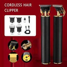 Tondeuse à cheveux Rechargeable pousser en céramique tondeuse électrique tondeuse épilation rasoir barbe nettoyage cheveux Machine de découpe lame