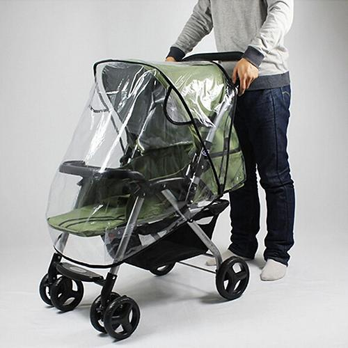 Universal Stroller Rain Cover Waterproof Wind Dust Shield Baby Stroller Pushchair Pram Rain Cover Tr