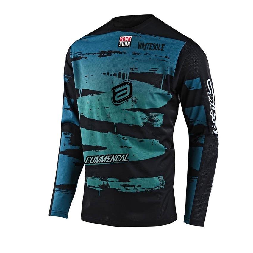 2021 enduro camiseta de motocross mtb Jersey para descensos MX ciclismo bicicleta...