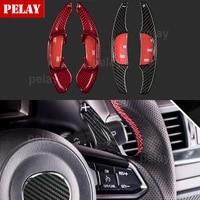 carbon fiber steering wheel dsg shift paddle shifters for mazda 3 6 cx 3 cx 5 bm gj mazda3 mazda6 cx3 cx5 paddle gearbox
