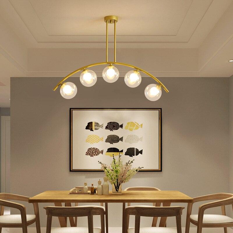الحديثة LED الشمال قلادة أضواء ديكور المنزل أضواء السقف المطبخ غرفة المعيشة فندق مطعم تركيب المصابيح أضواء مقهى