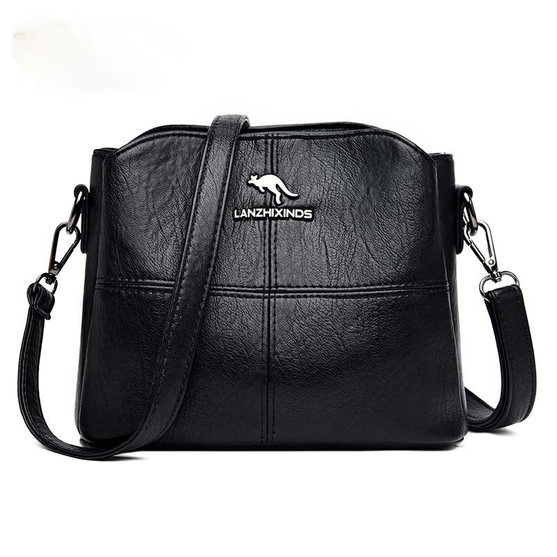 Women Tote Bag Solid Color PU Leather Ladies Bags 2021 Shoulder Bag Small Crossbody Bags Sac A Main Purses and Handbags