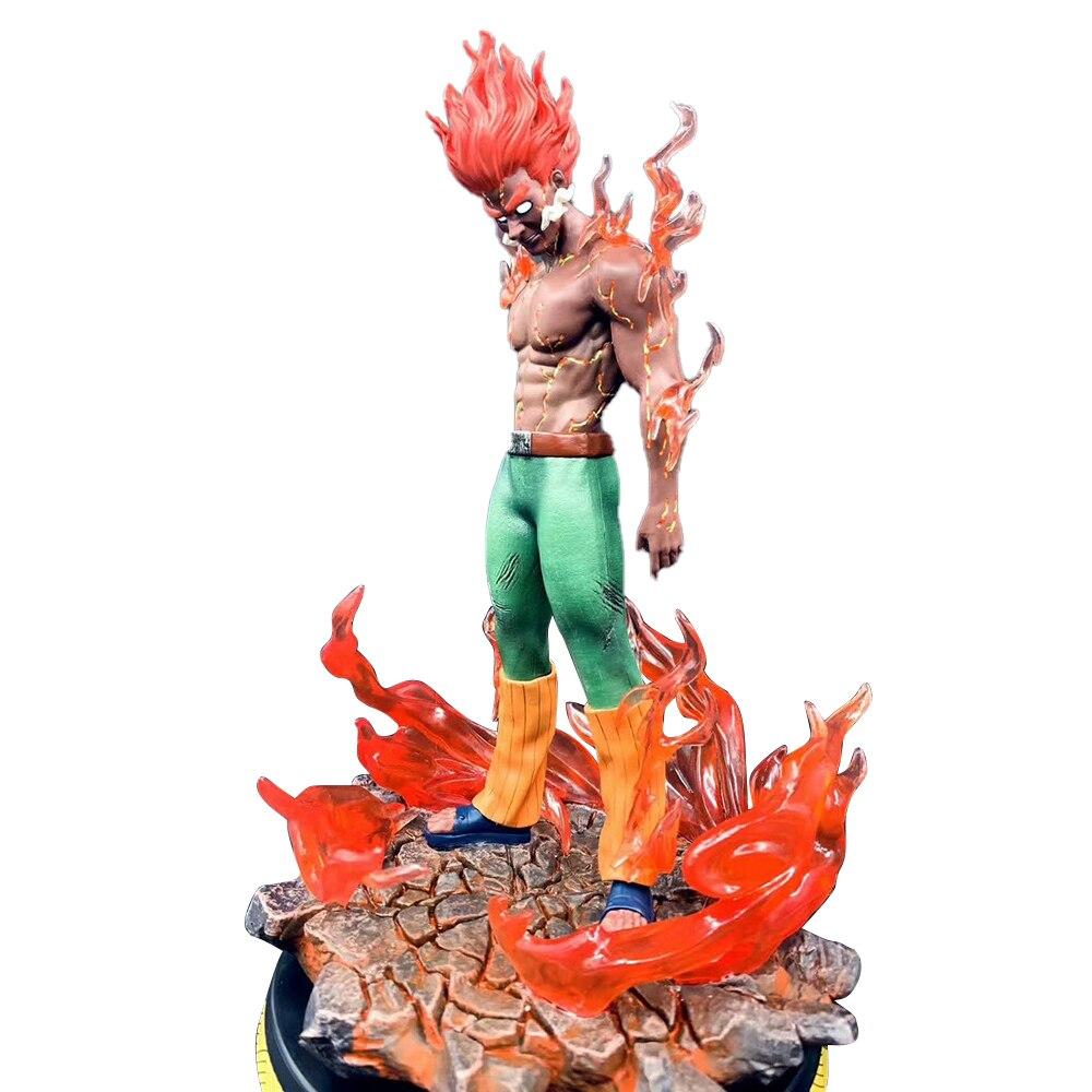 Naruto shippuden poderia cara kai gk modelo figura de ação anime hachimonn tonnkou figma pvc 30 cm estátua collectible brinquedo mobiliário
