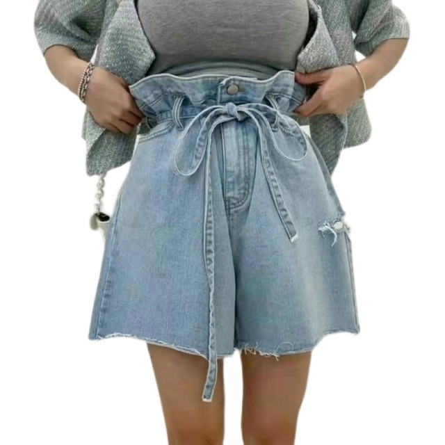 CMAZ jean shorts for women denim Korean style new women's clothing summer thin leisure loose jeans 1689# 8