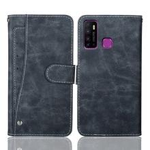Luxury Wallet Infinix Hot 9 Case 6.6