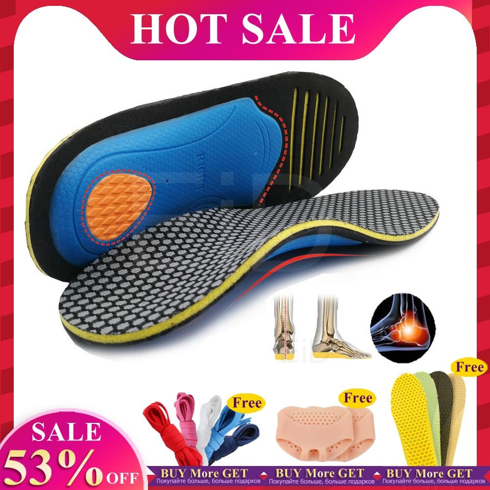 Ортопедические стельки EiD ортопедические плоские стельки для здоровья подошвы для обуви вставка для поддержки свода для подошвенного фасц...