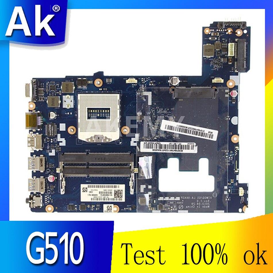 90003684 لينوفو Ideapad G510 دفتر اللوحة الرئيسية LA-9642P SR17E DDR3 اللوحة الأم للكمبيوتر المحمول