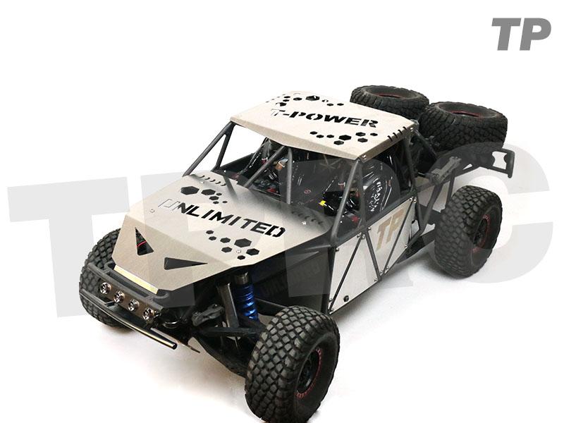RC car traxxas 1 / 7 UDR desert truck upgrade parts metal shell body armor crash armor hood top cover side panel enlarge