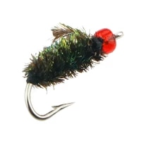 5pcs fly fishing flies scud bug worm flies trout hand tied fly fishing lure hook for fishing fly floating bait accessories
