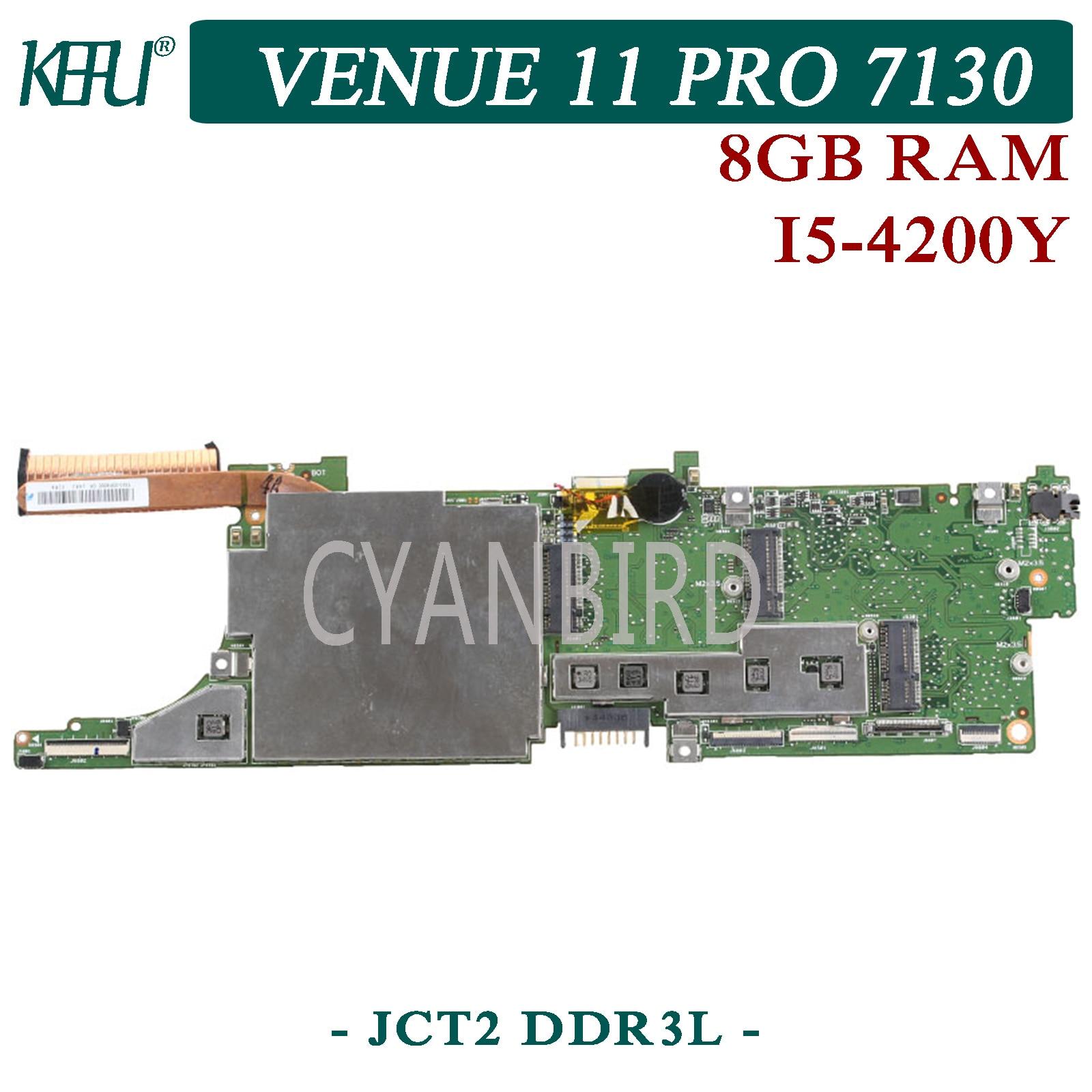KEFU JCT2 DDR3L اللوحة الأصلية لديل الملعب 11 برو 7130 مع 8GB-RAM I5-4200Y اللوحة المحمول